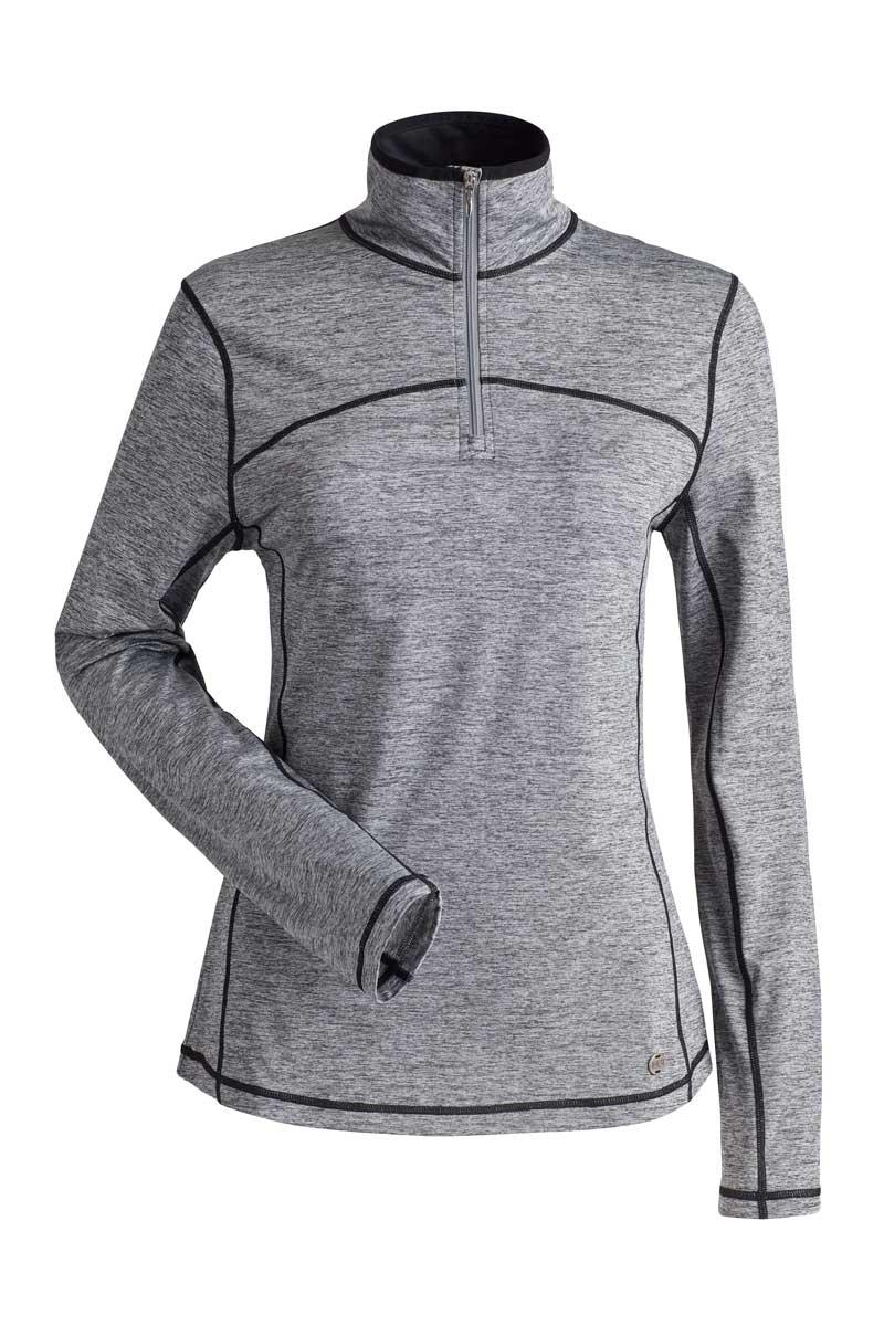 NILS Women's Sienna 1/4 Zip Top in Heather