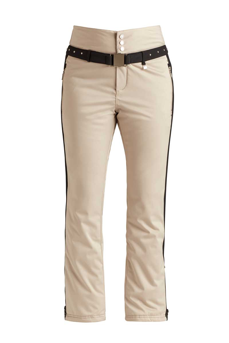 NILS Women's Mariette Pant in Champagne and Black