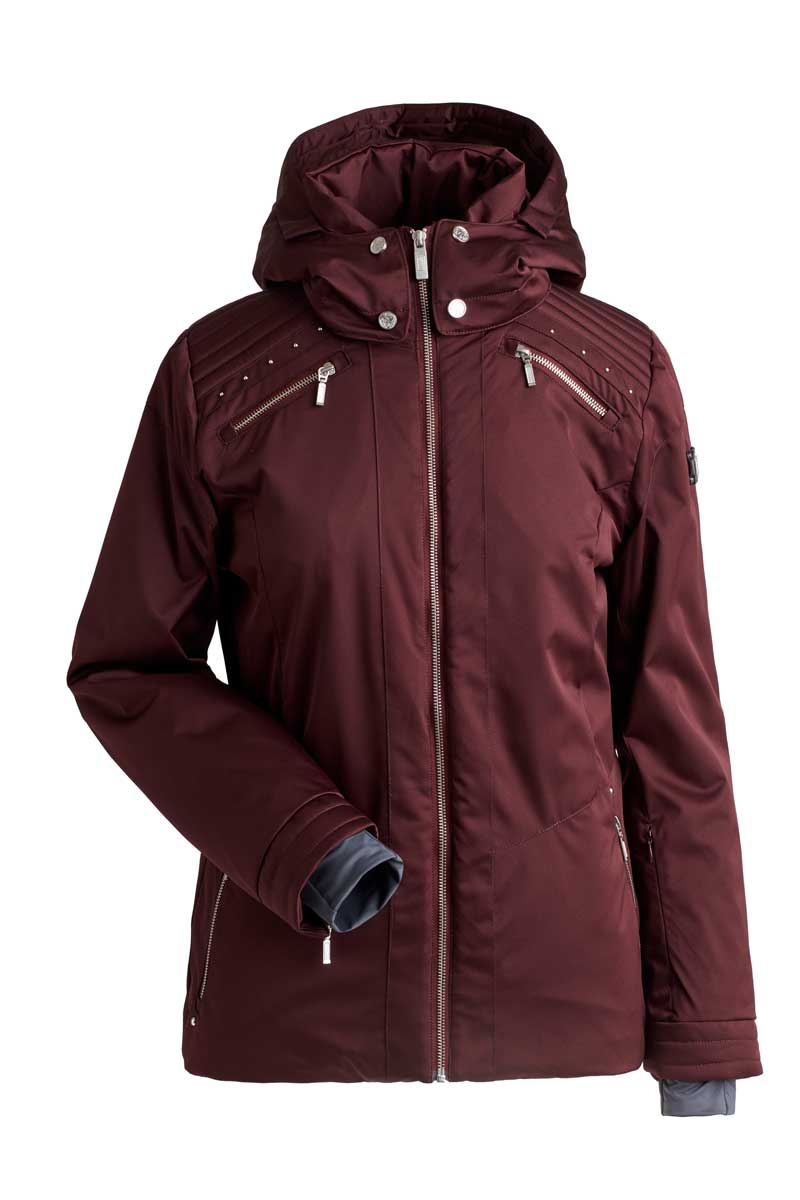 NILS Women's Margaux Jacket in Mahogany