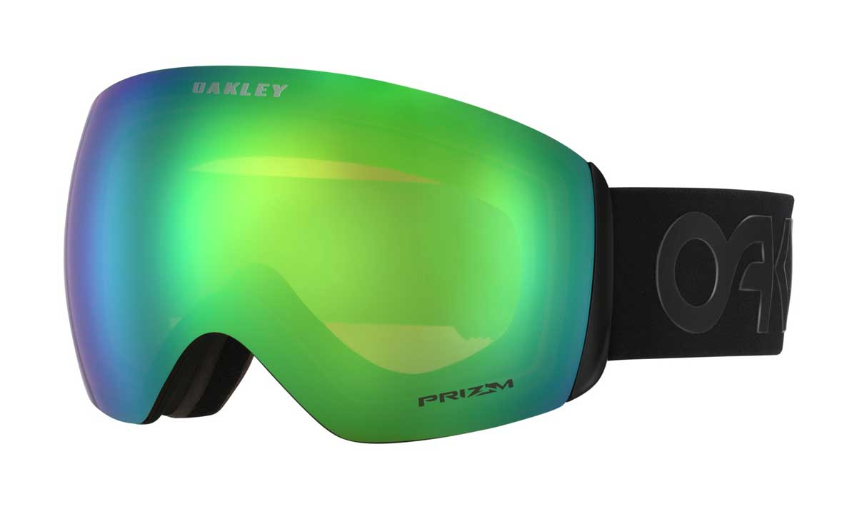 oakley flight deck goggle in Factory Pilot Blackout with Prizm Jade Iridium