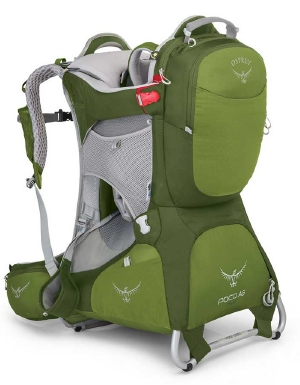 Osprey Poco AG Plus in Ivy Green
