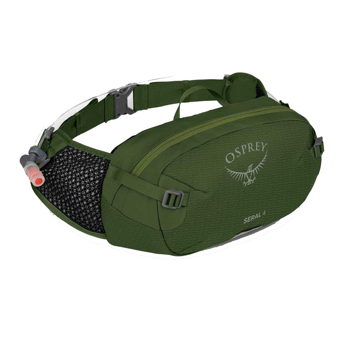 Osprey Seral 4 Pack with Reservoir in Dustmoss Green
