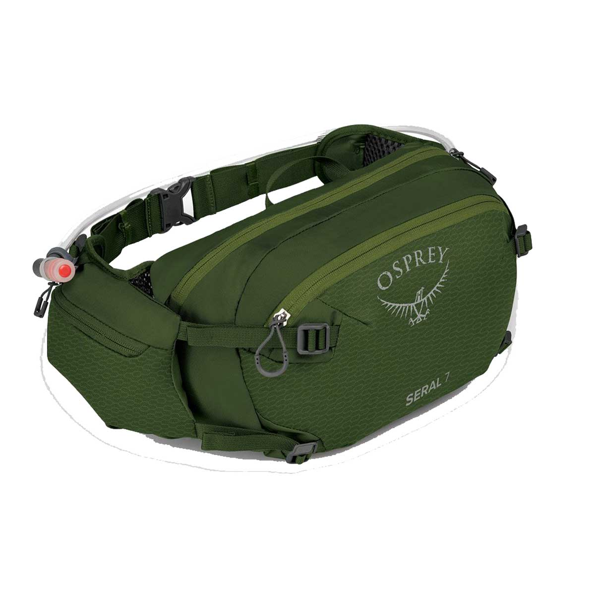 Osprey Seral 7 Pack with Reservoir in Dustmoss Green