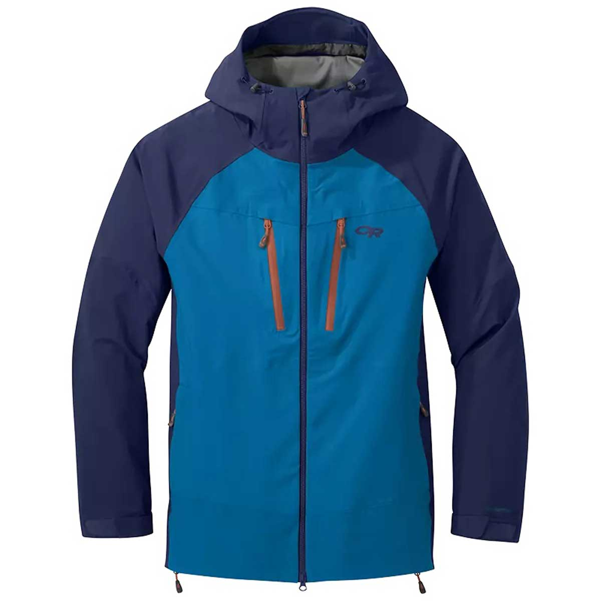 Outdoor Research Men's Skyward II Jacket in Cascade and Twighlight