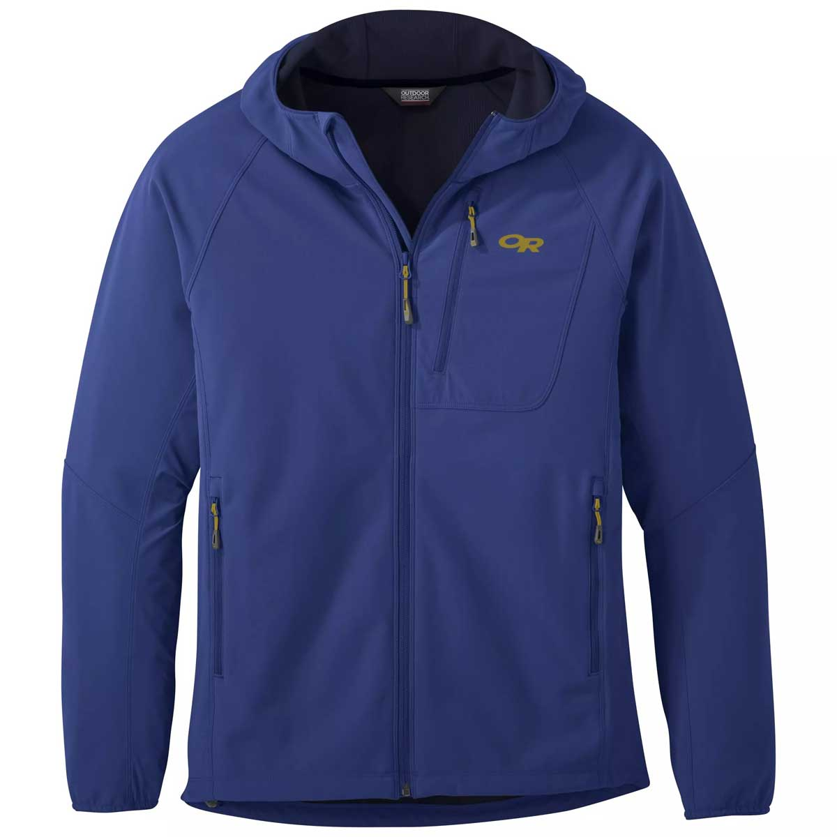 Outdoor Research Men's Ferrosi Grid Hooded Jacket in Sapphire