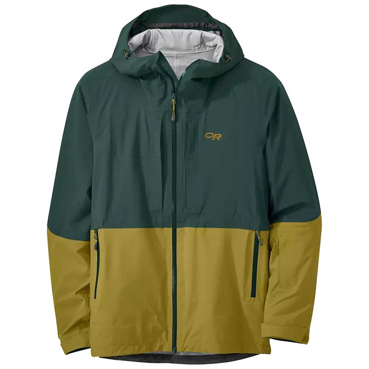 Outdoor Research Men's Carbide Jacket in Fir and Lichen