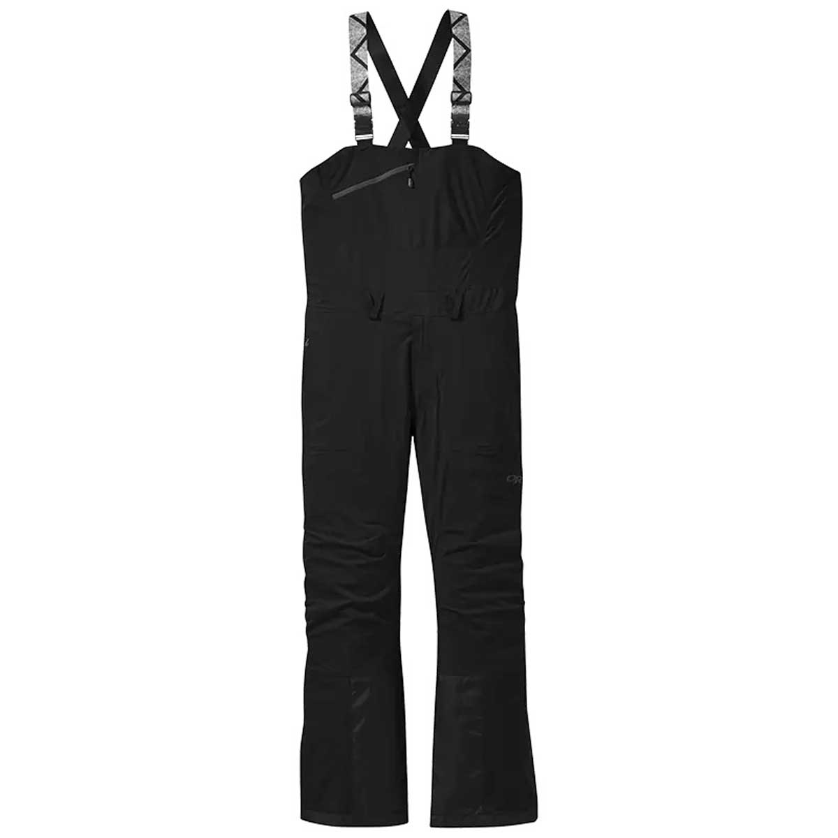 Outdoor Research Men's Carbide Bibs in Black