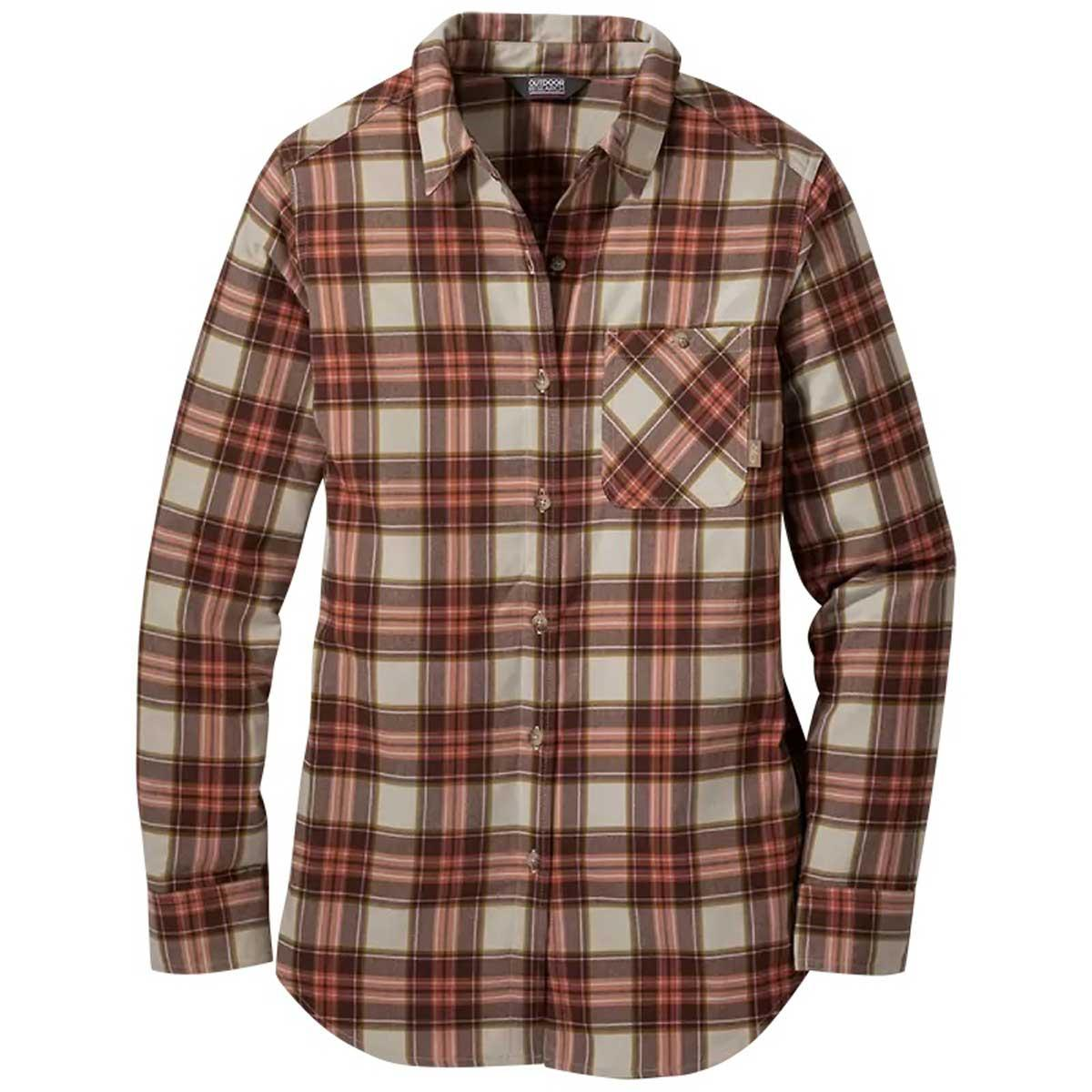 Outdoor Research Women's Kulshan Flannel Tunic in Overcast
