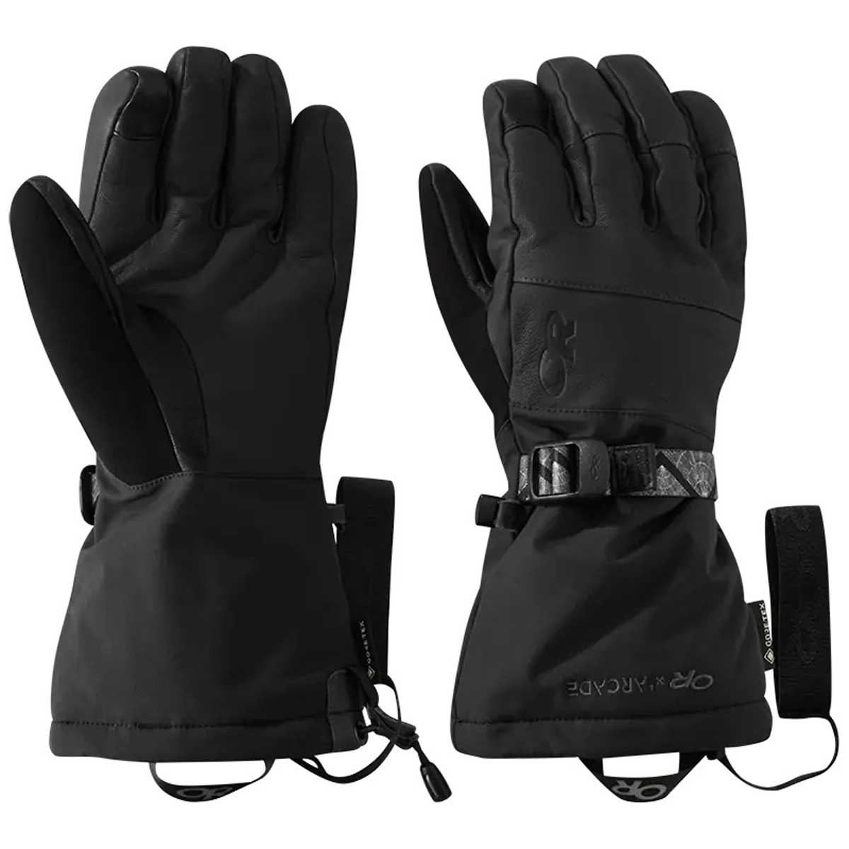 Outdoor Research Men's Carbide Sensor Gloves in Black and Storm