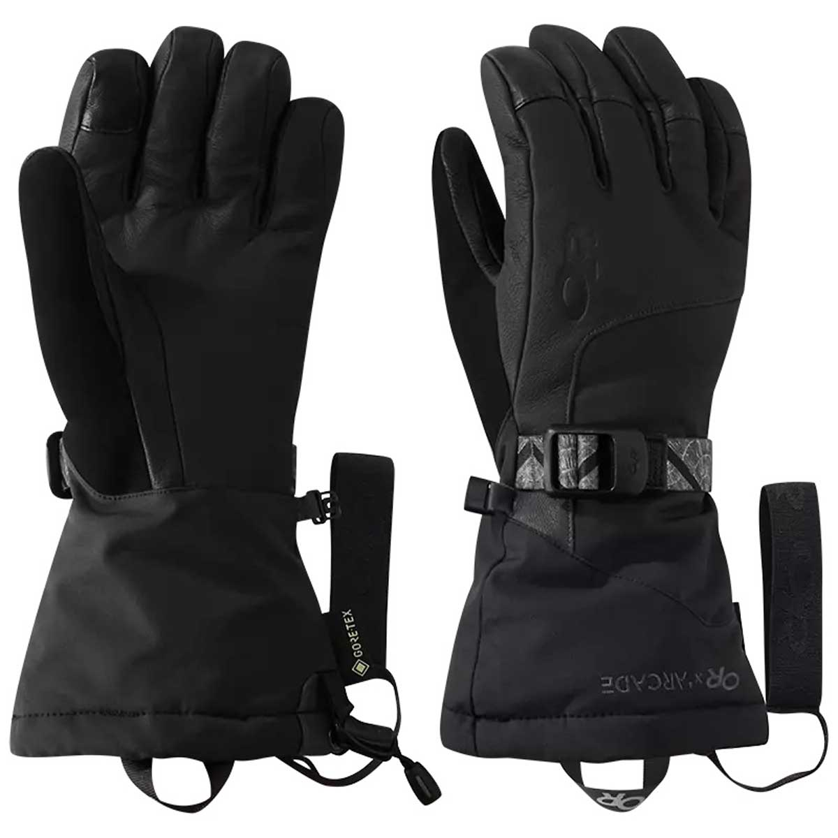 Outdoor Research Women's Carbide Sensor Gloves in Black and Storm