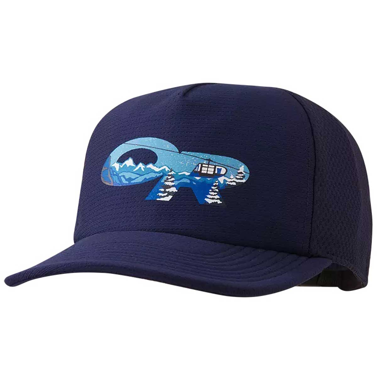 Outdoor Research Alpine Performance Trucker Hat in Night