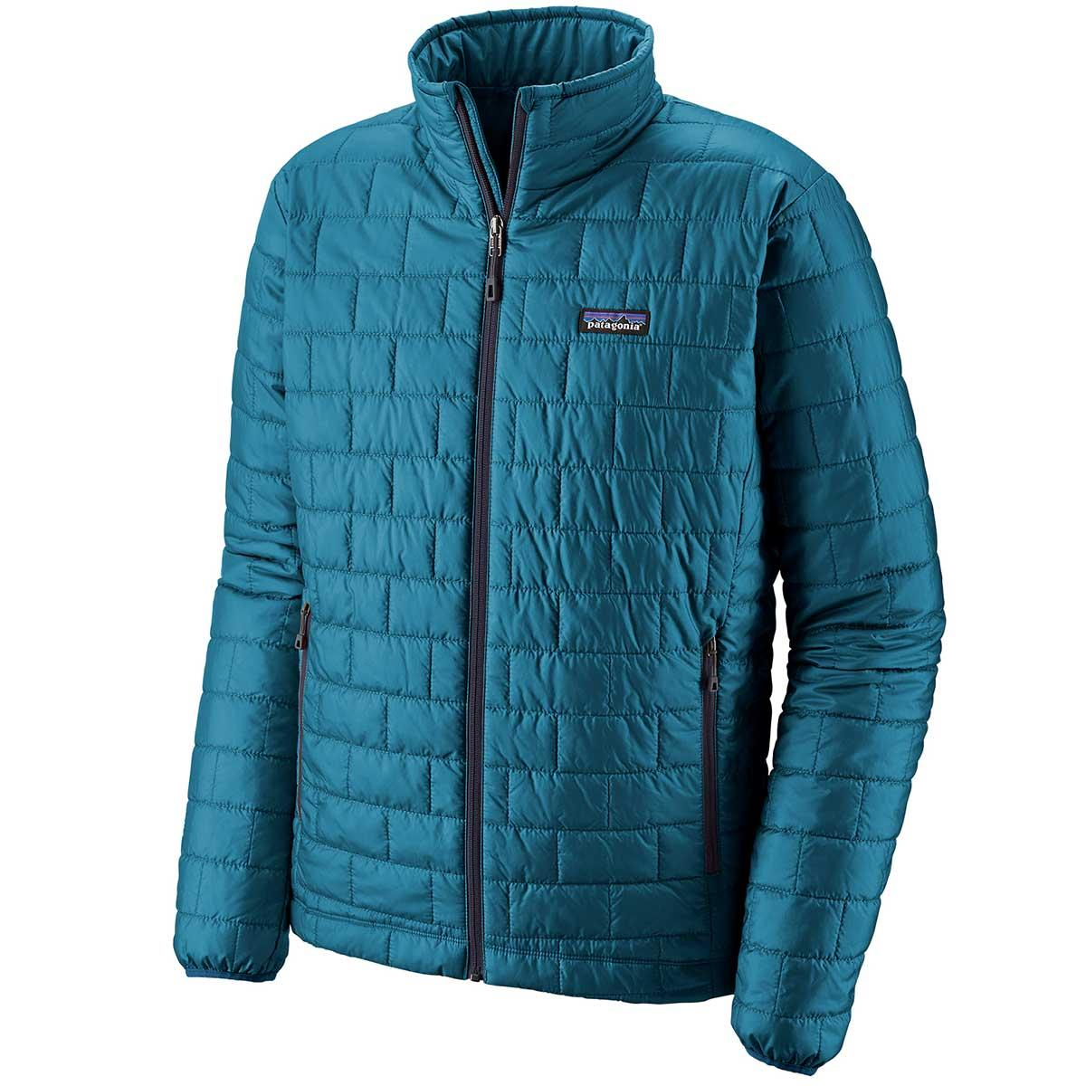 Patagonia men's Nano Puff Jacket in Balkan Blue