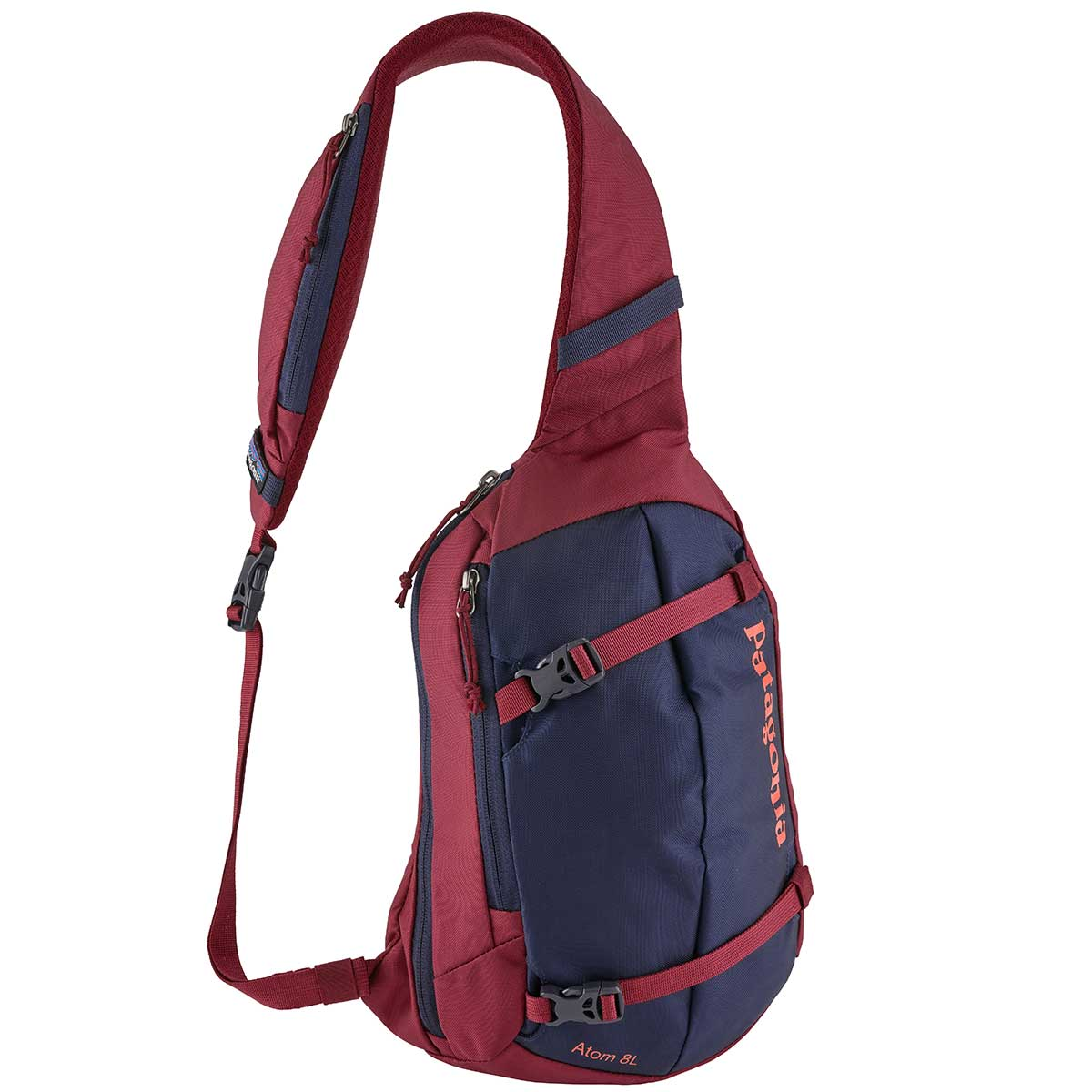 Patagonia Atom Sling 8L Day Pack in Arrow Red front view