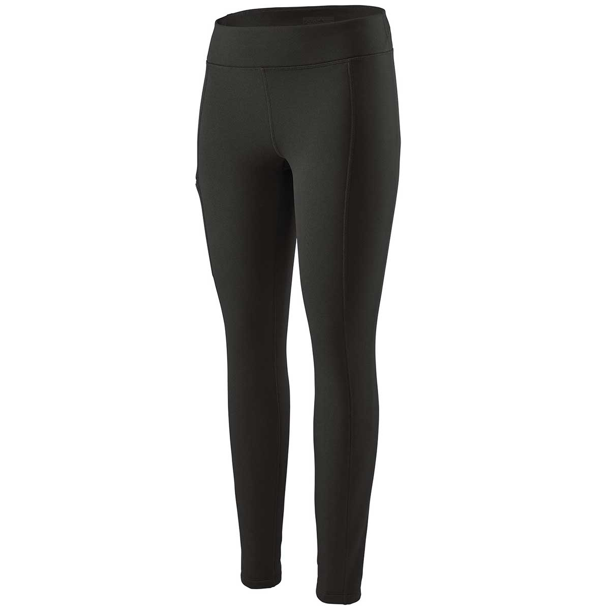 Patagonia women's Crosstrek Bottoms in Black front view