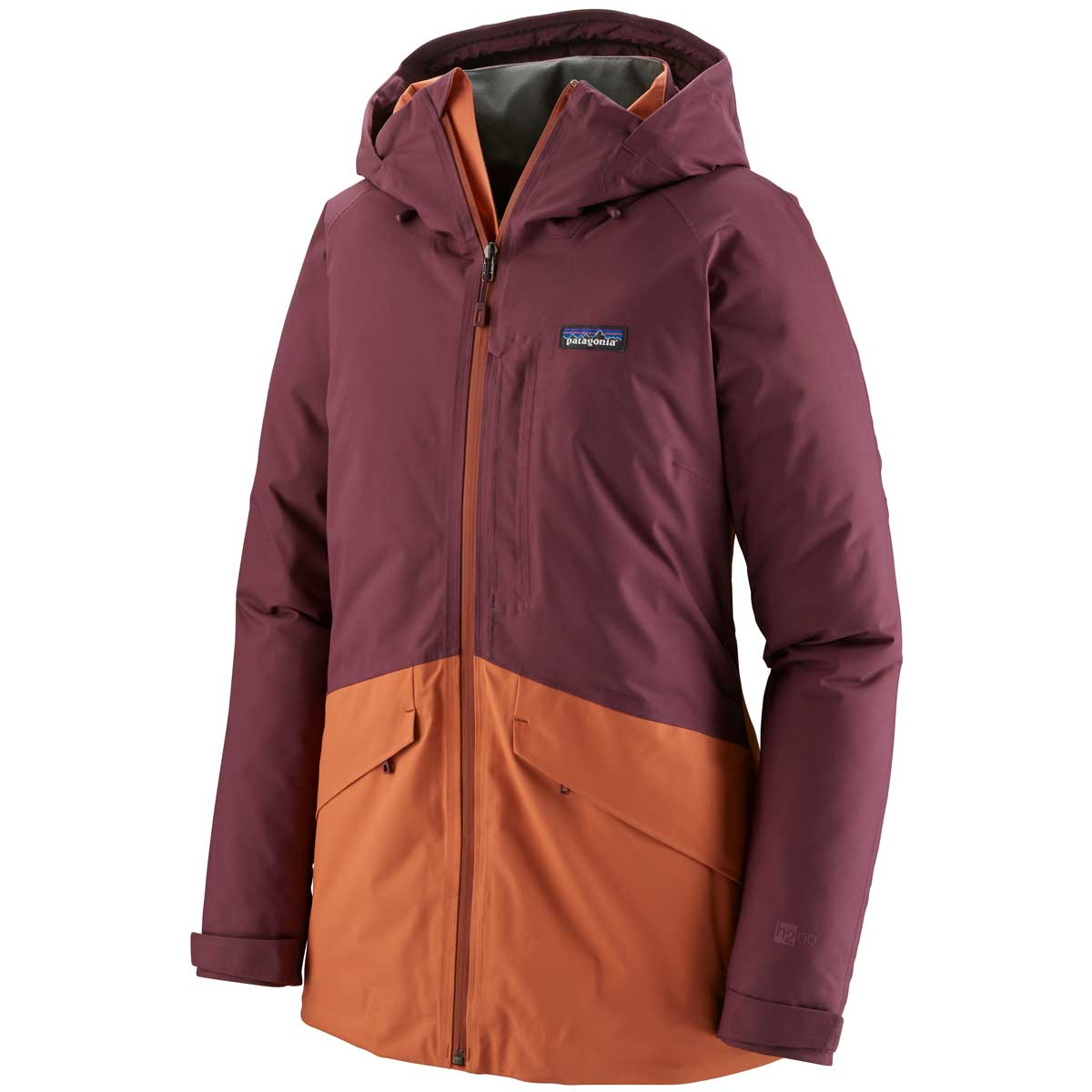 Patagonia women's Insulated Snowbelle Jacket in Light Balsamic front view