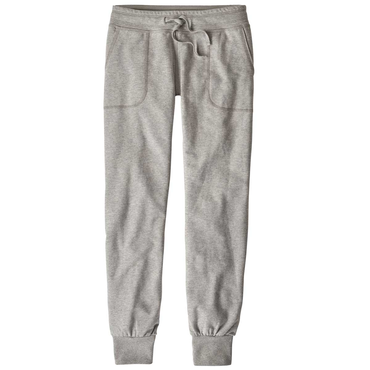 Patagonia women's Ahnya Pant in Drifter Grey front view
