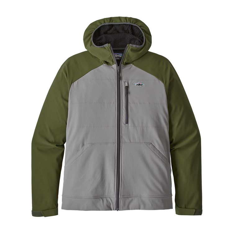 Patagonia Snap Dry hoody in grey