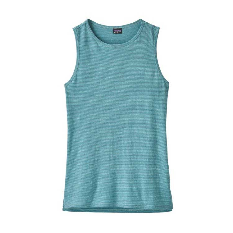 Women's Patagonia Trail Harbor Tank in Atoll Blue