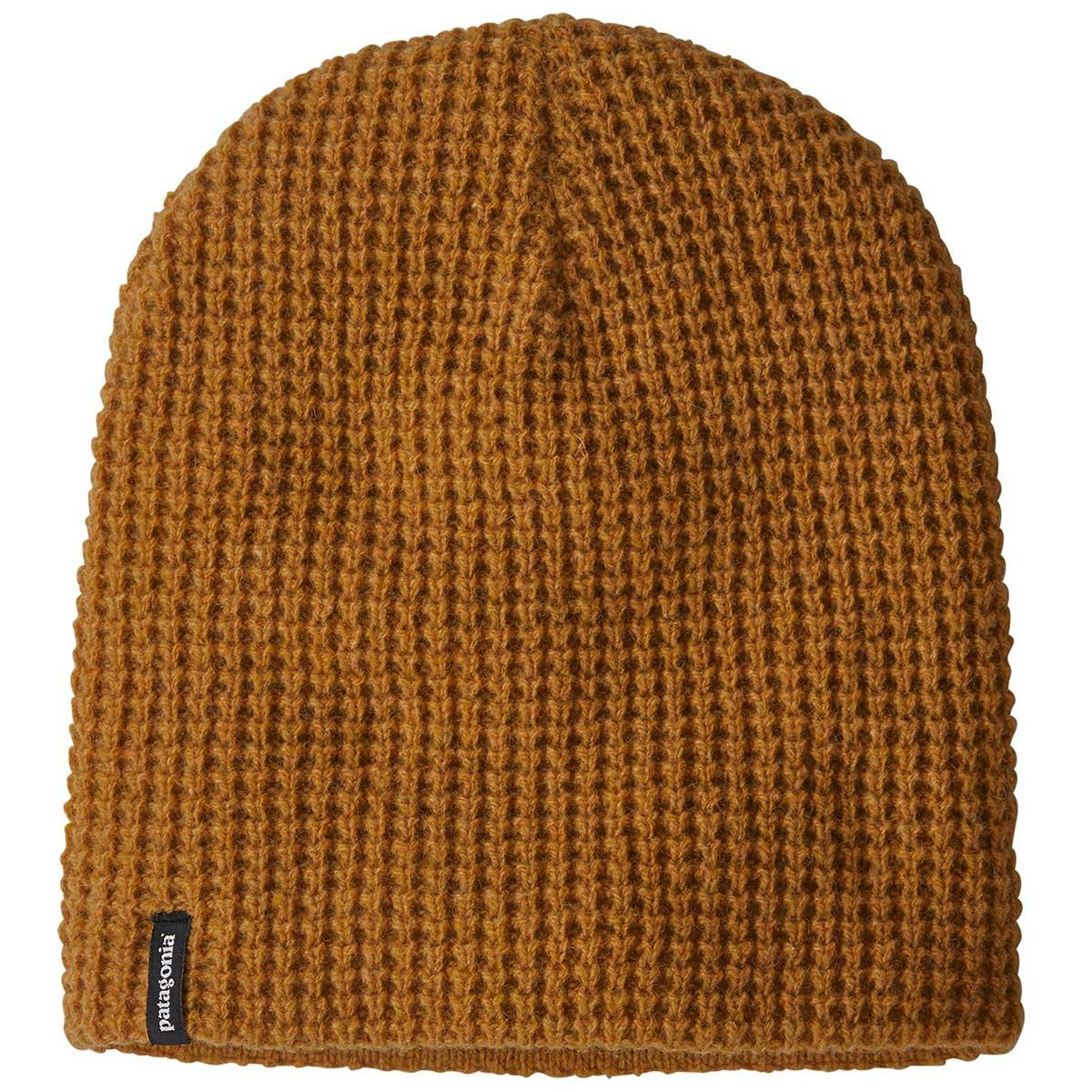 Patagonia Desert Sky Beanie in Hammonds Gold front view