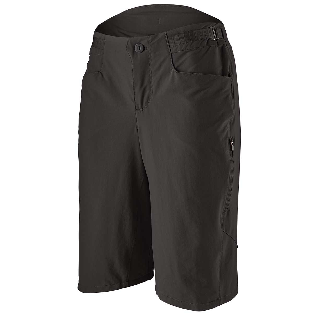 Patagonia women's Dirt Craft Bike Short in Black front view