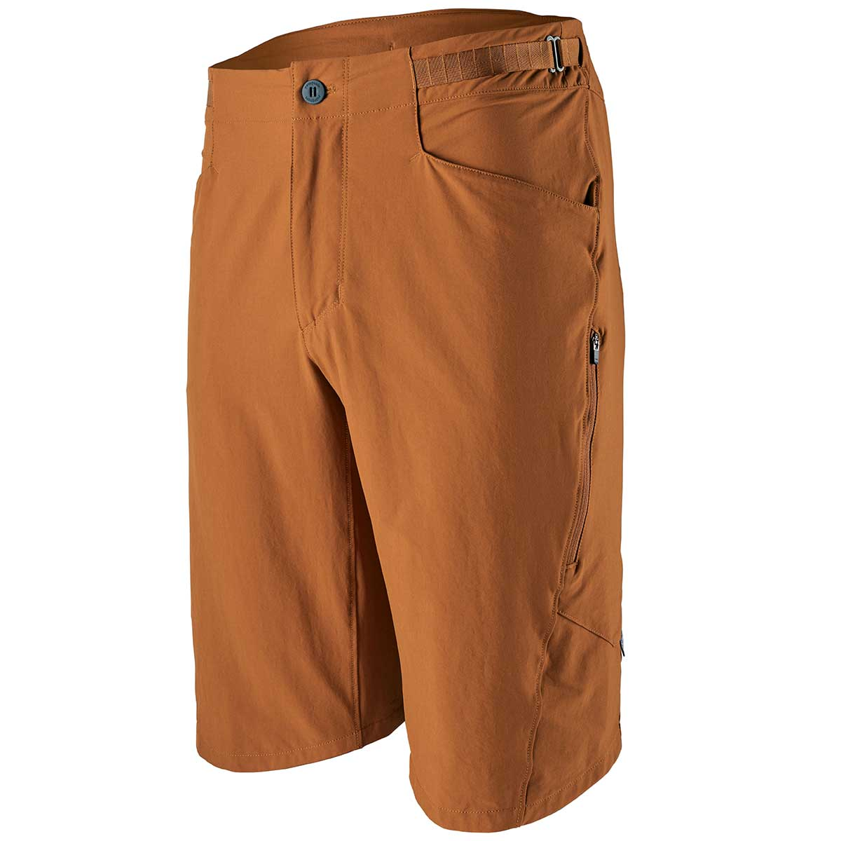Patagonia men's Dirt Craft Bike Short in Wood Brown front view