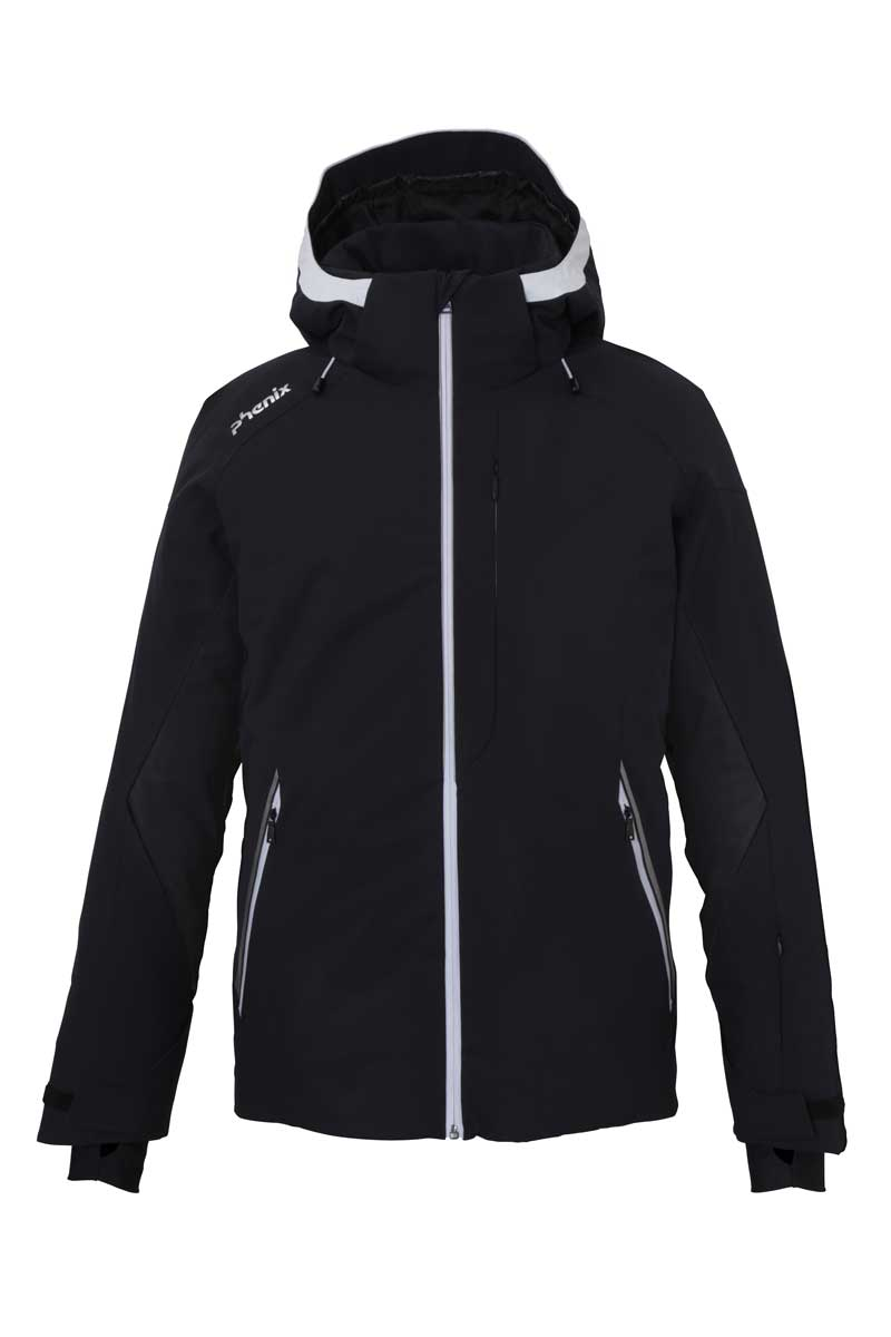 Phenix Laser jacket in black