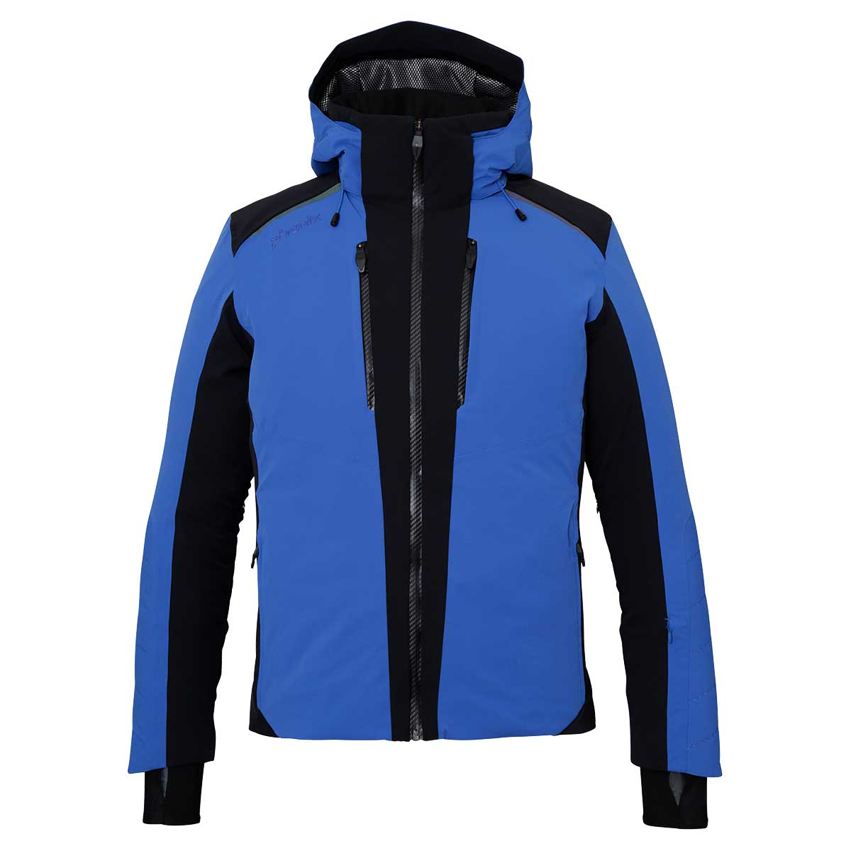 Phenix men's Wing Jacket in Blue and Black main view