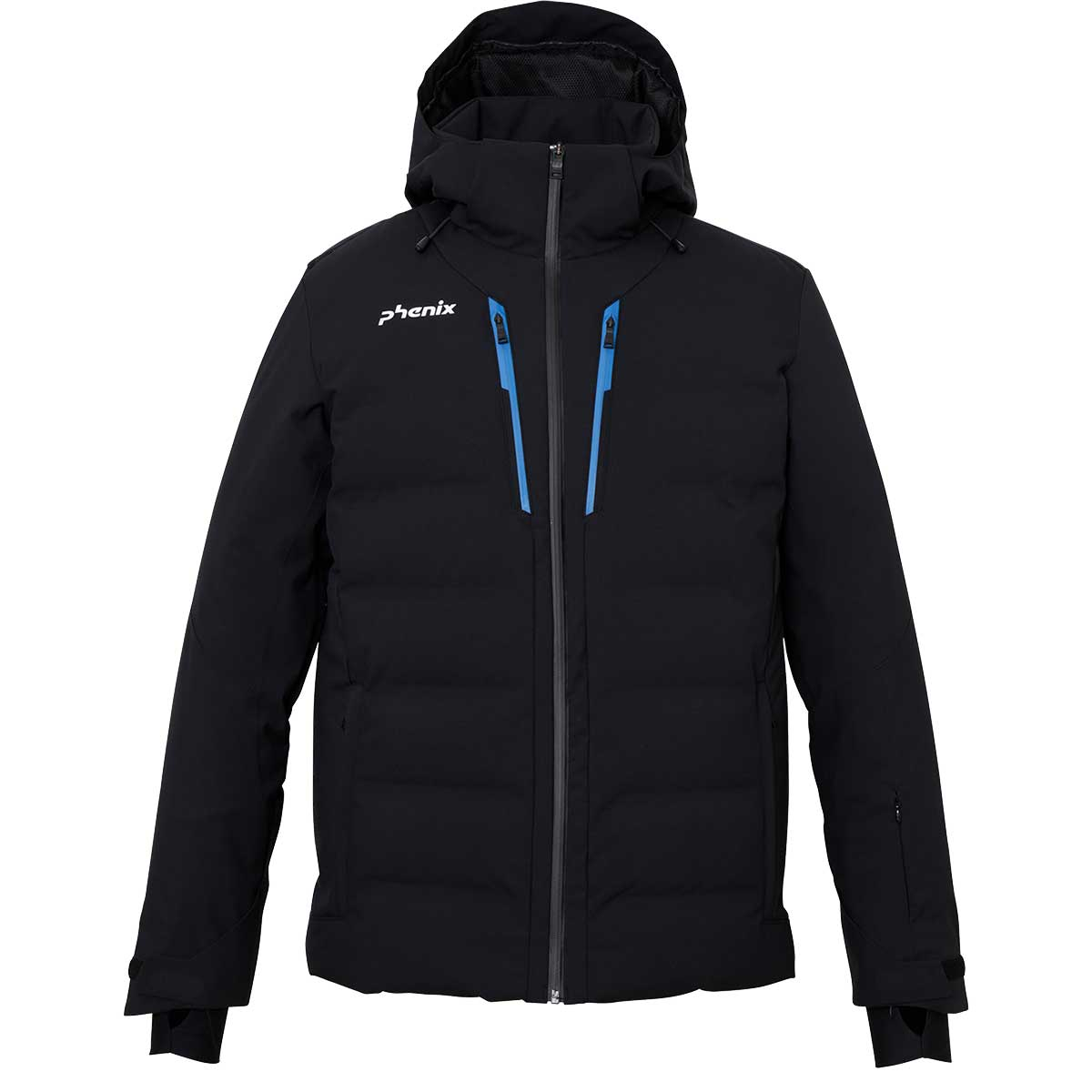 Phenix men's Escala Jacket in Black and Blue main view