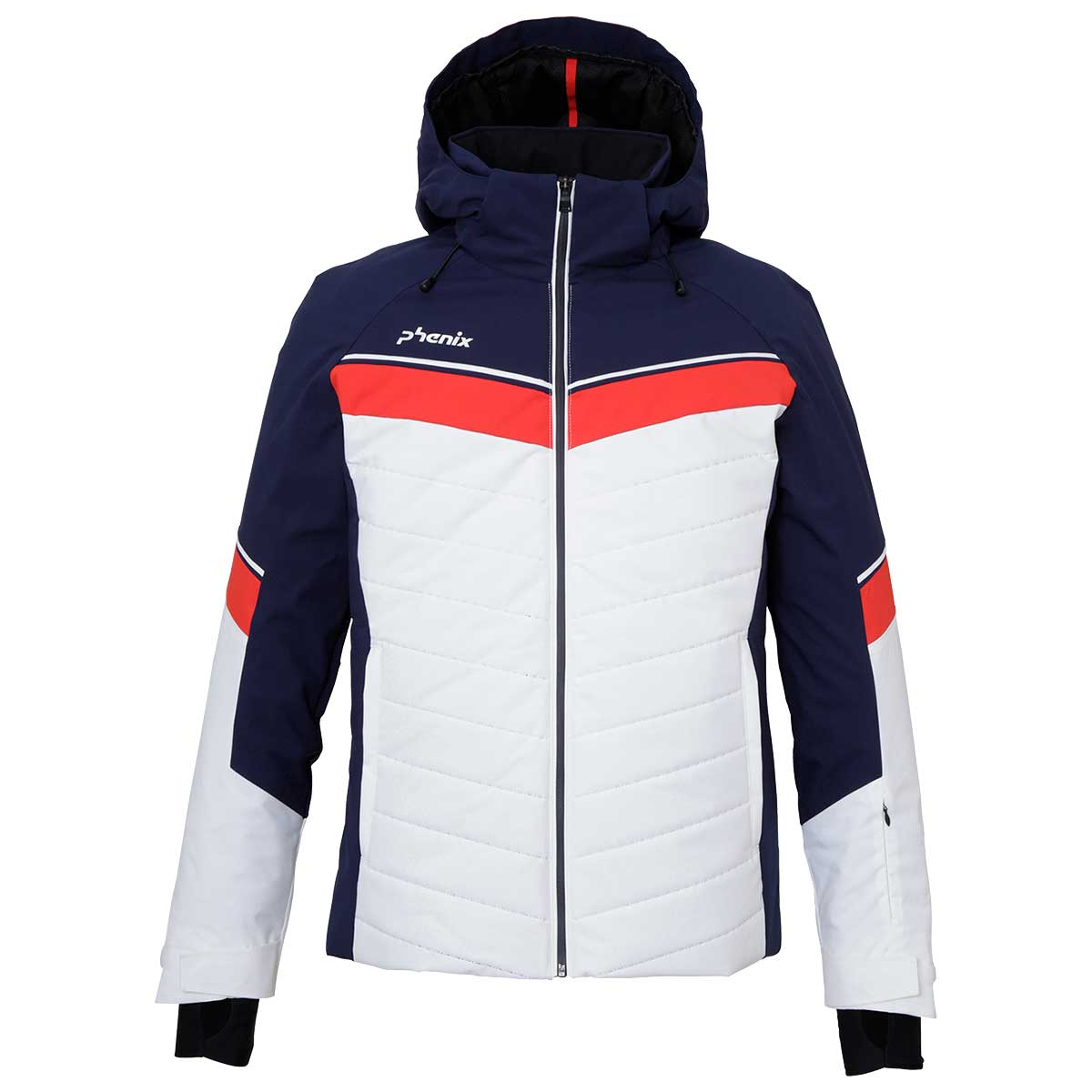 Phenix men's Stratos Jacket in White front view