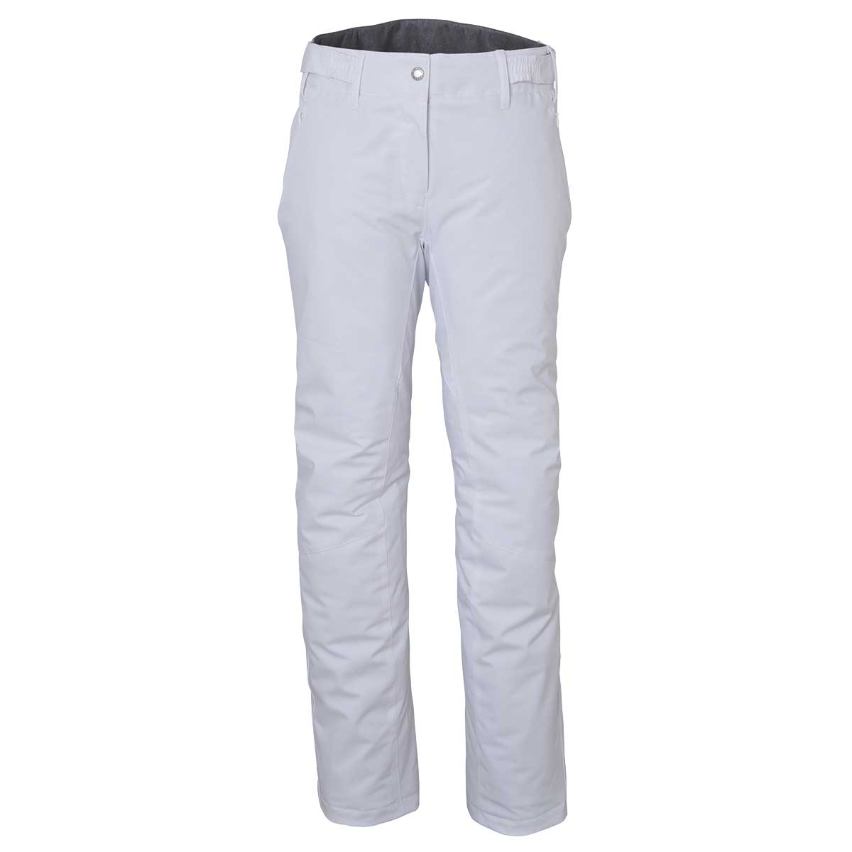 Phenix women's Lily Slim Pant in White front view