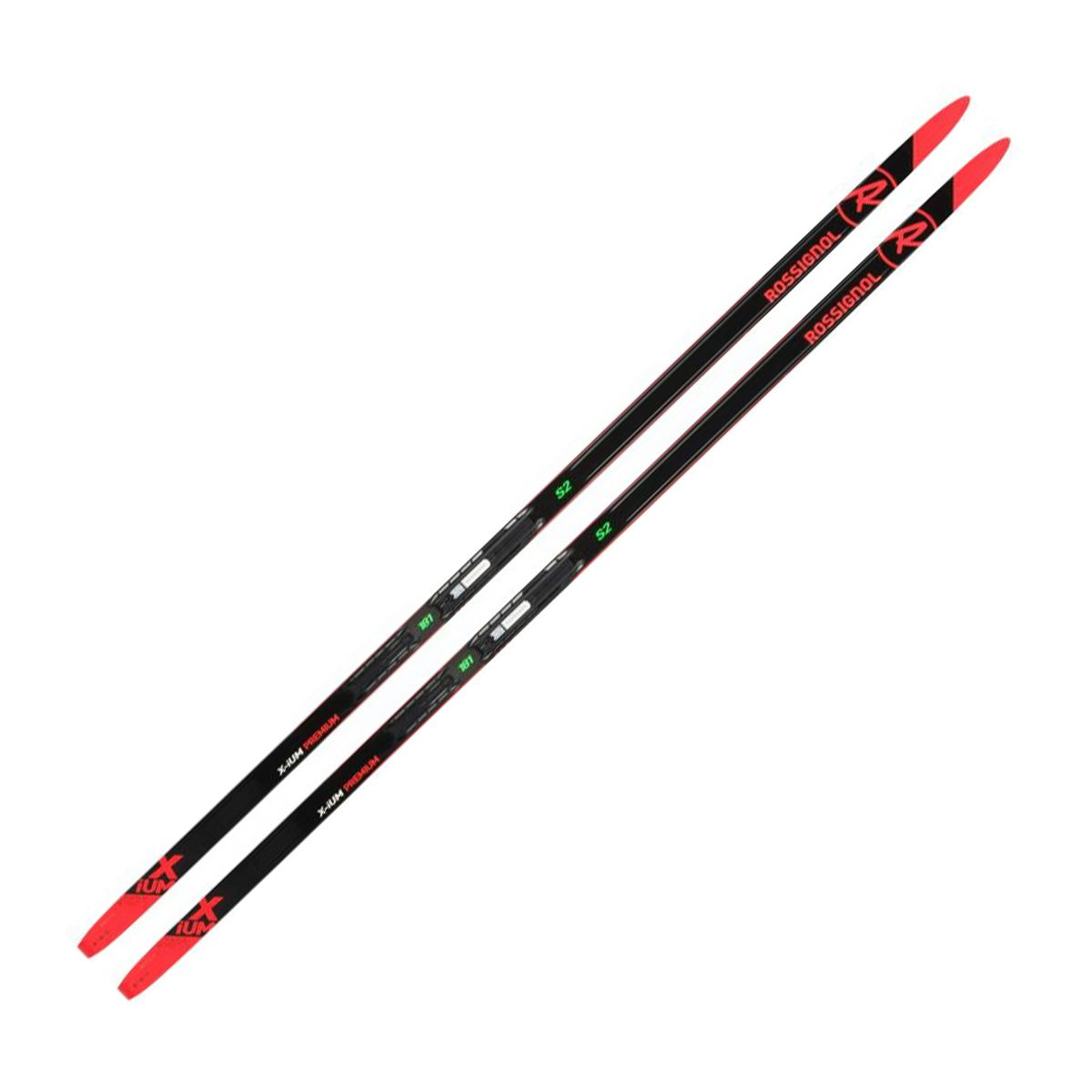 Rossignol X-Ium Premium Skating S2 IFP Ski in Black and Red