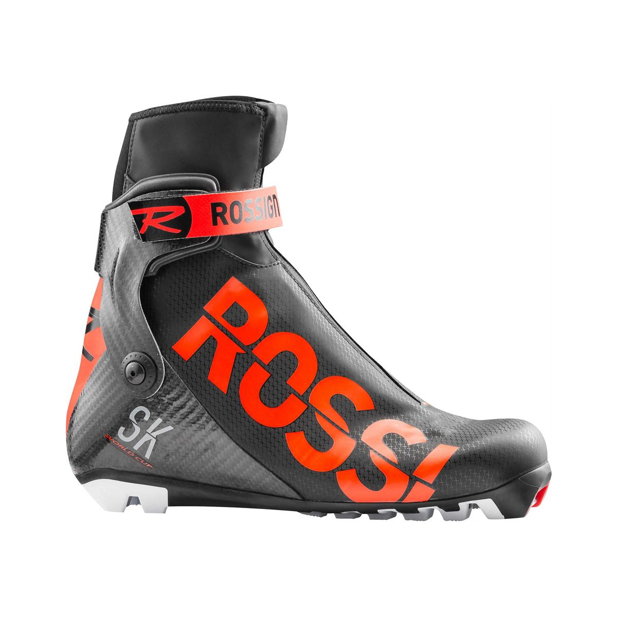 Rossignol X-Ium WC Skate Boot in Black and Red