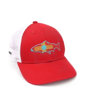 0556b1f37141b RepYourWater New Mexico Flag Mesh Back Hat. Pinit
