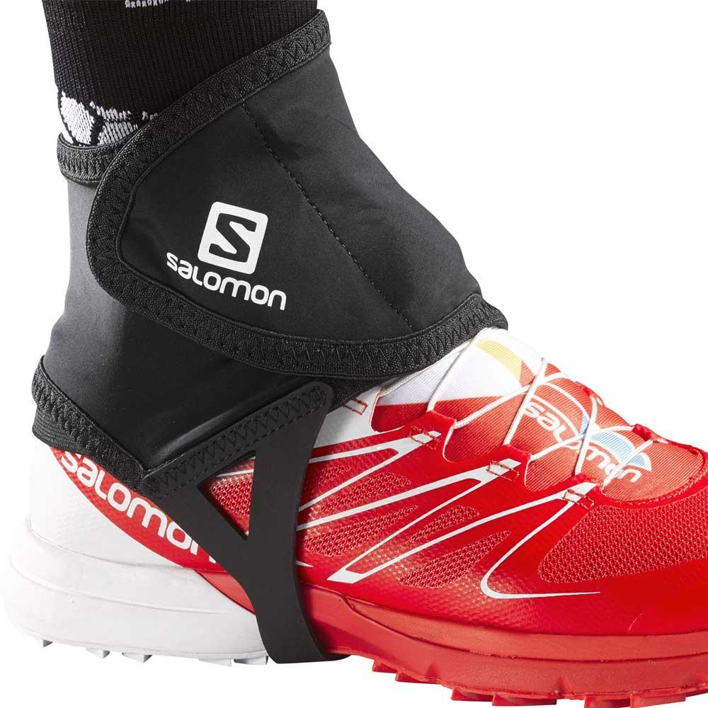 Salomon low Trail Gaiters in Black