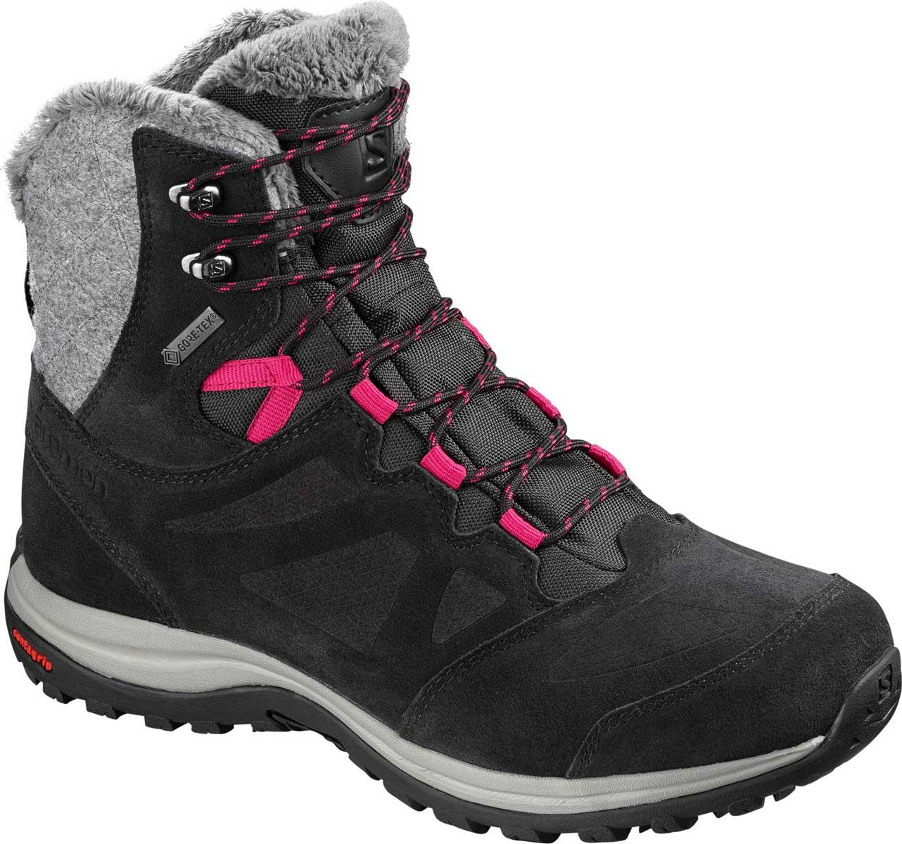 Salomon Ellipse Winter GTX W in Phantom and Black