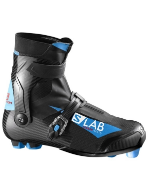 Salomon Men's S Lab Carbon Skate Prolink Boot in Black