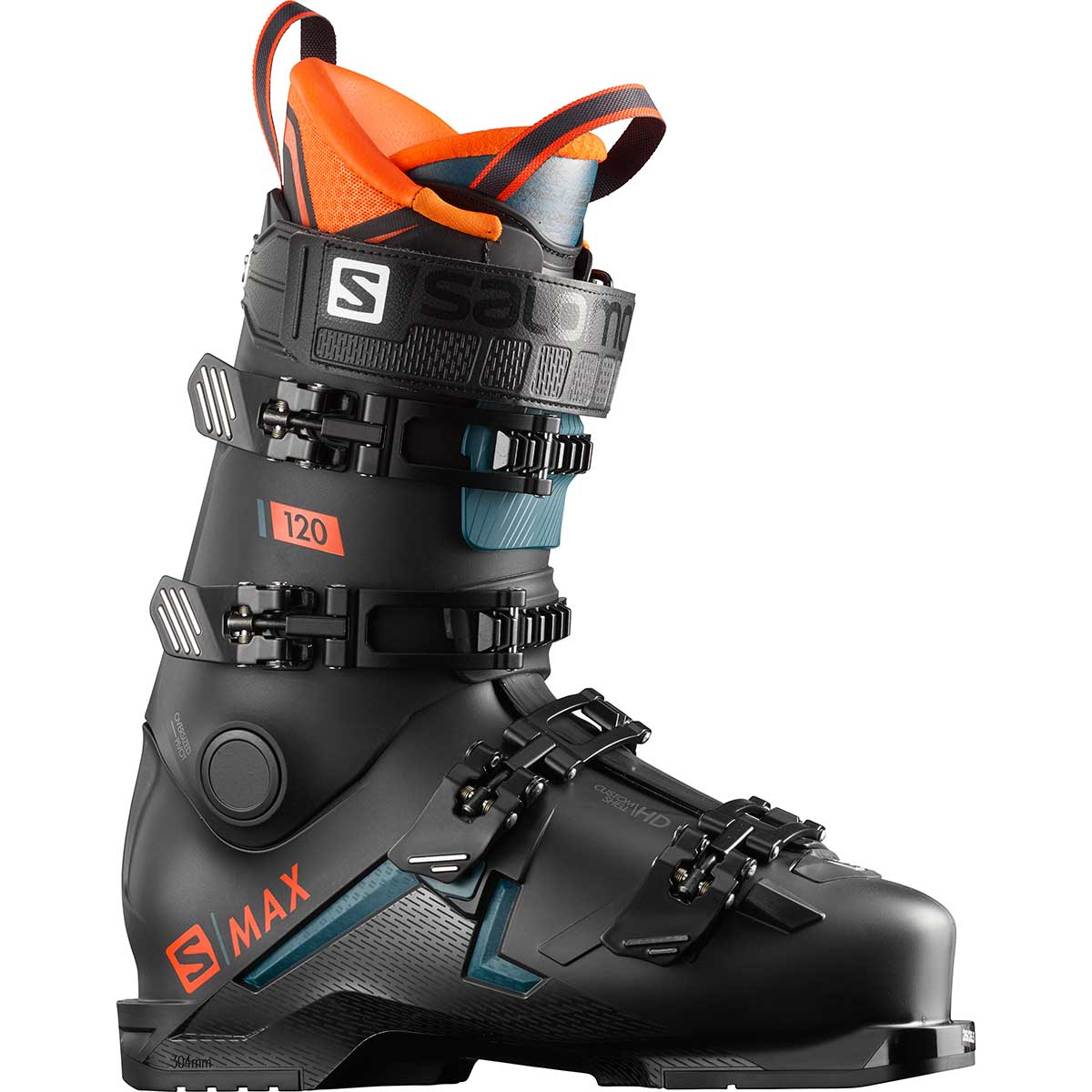 Salomon S/Max 120 ski boot in black