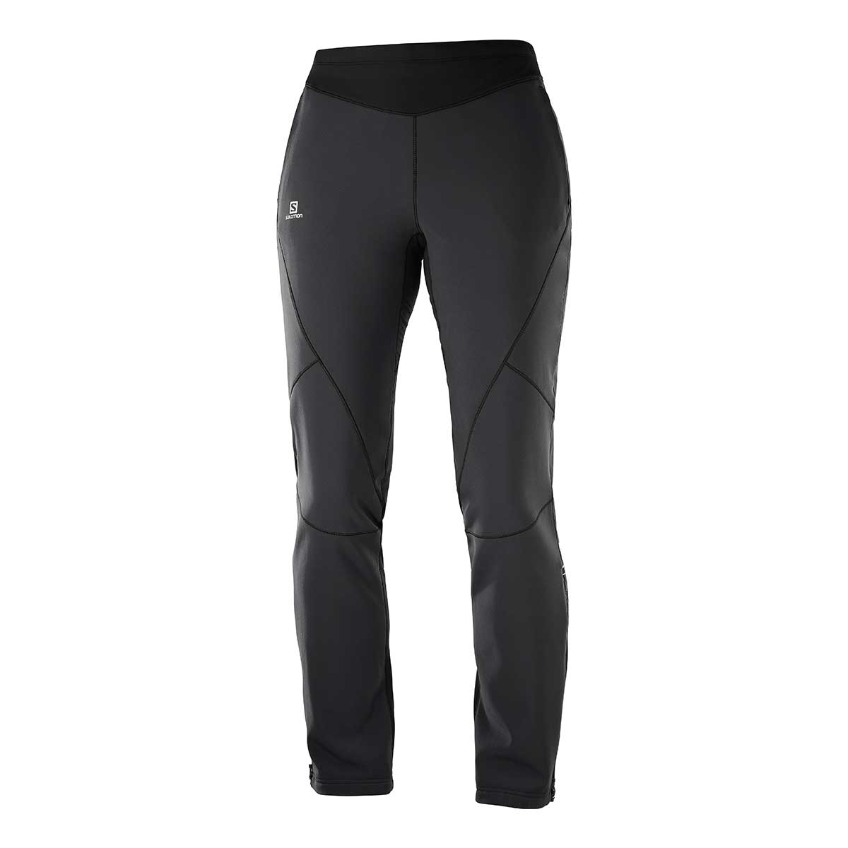 Salomon Women's Lightning Warm Softshell Pant in Black