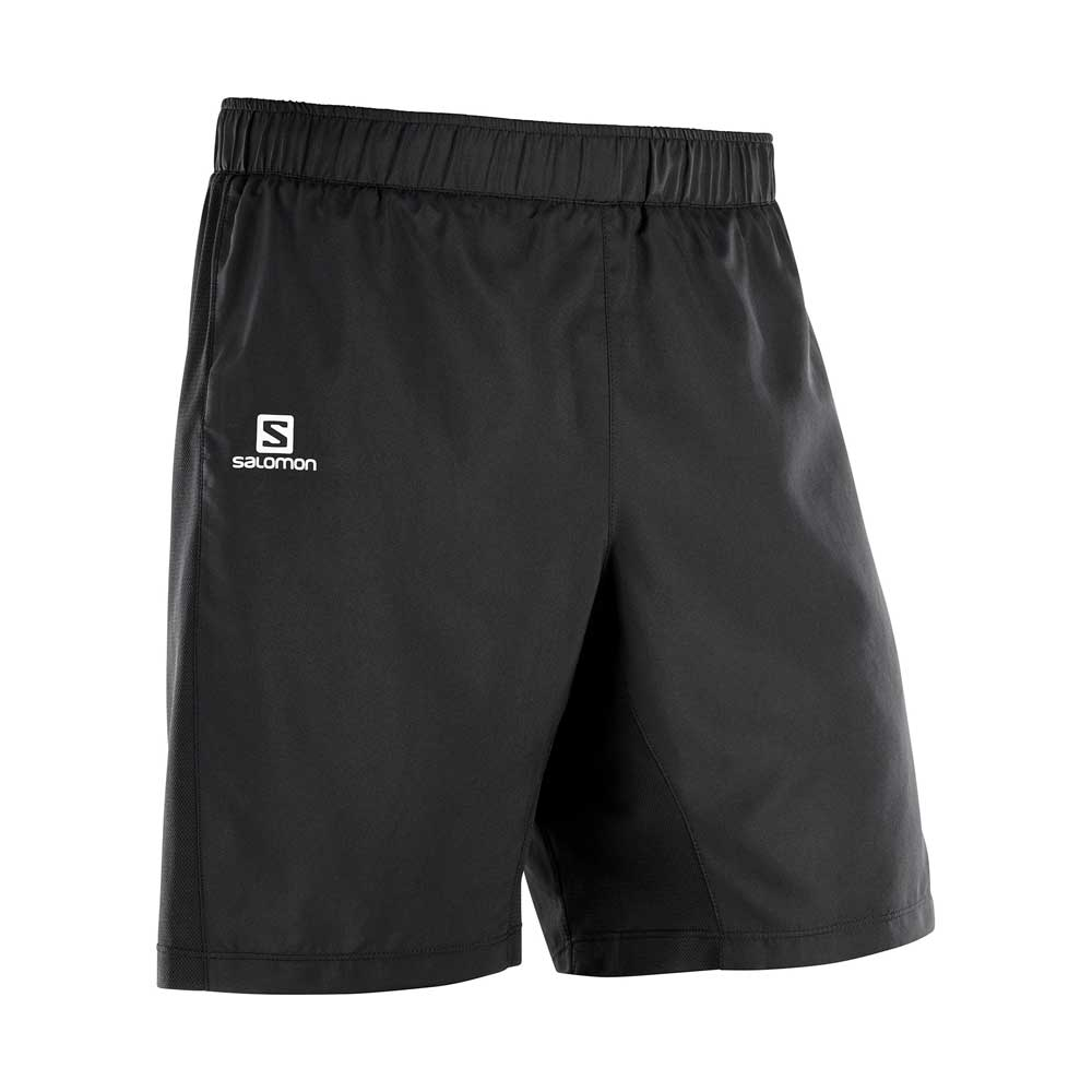 Salomon men's Agile 2in1 shorts in black