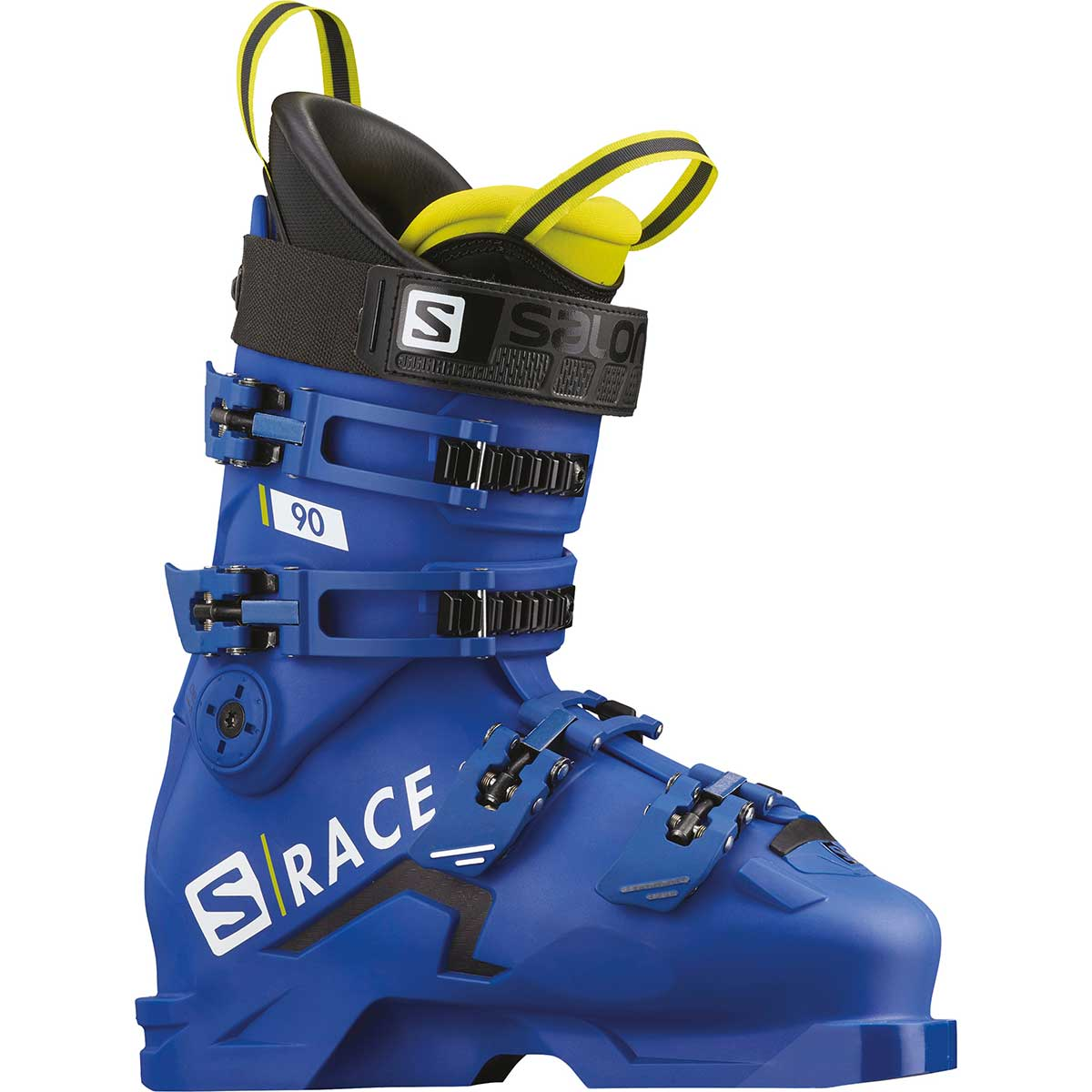 Salomon S/Race 90 ski boot in race blue