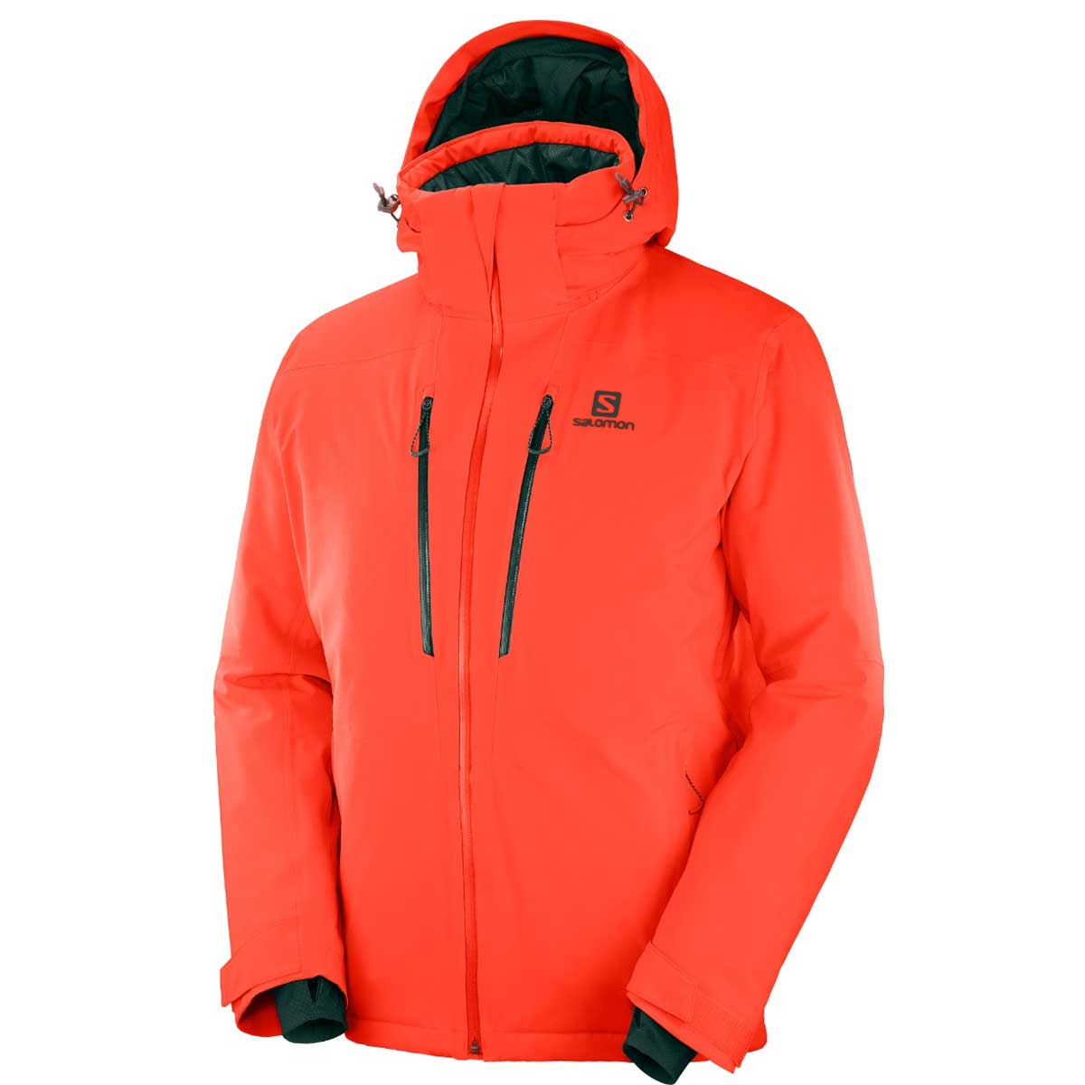 Salomon Men's Icefrost Jacket in Cherry Tomato