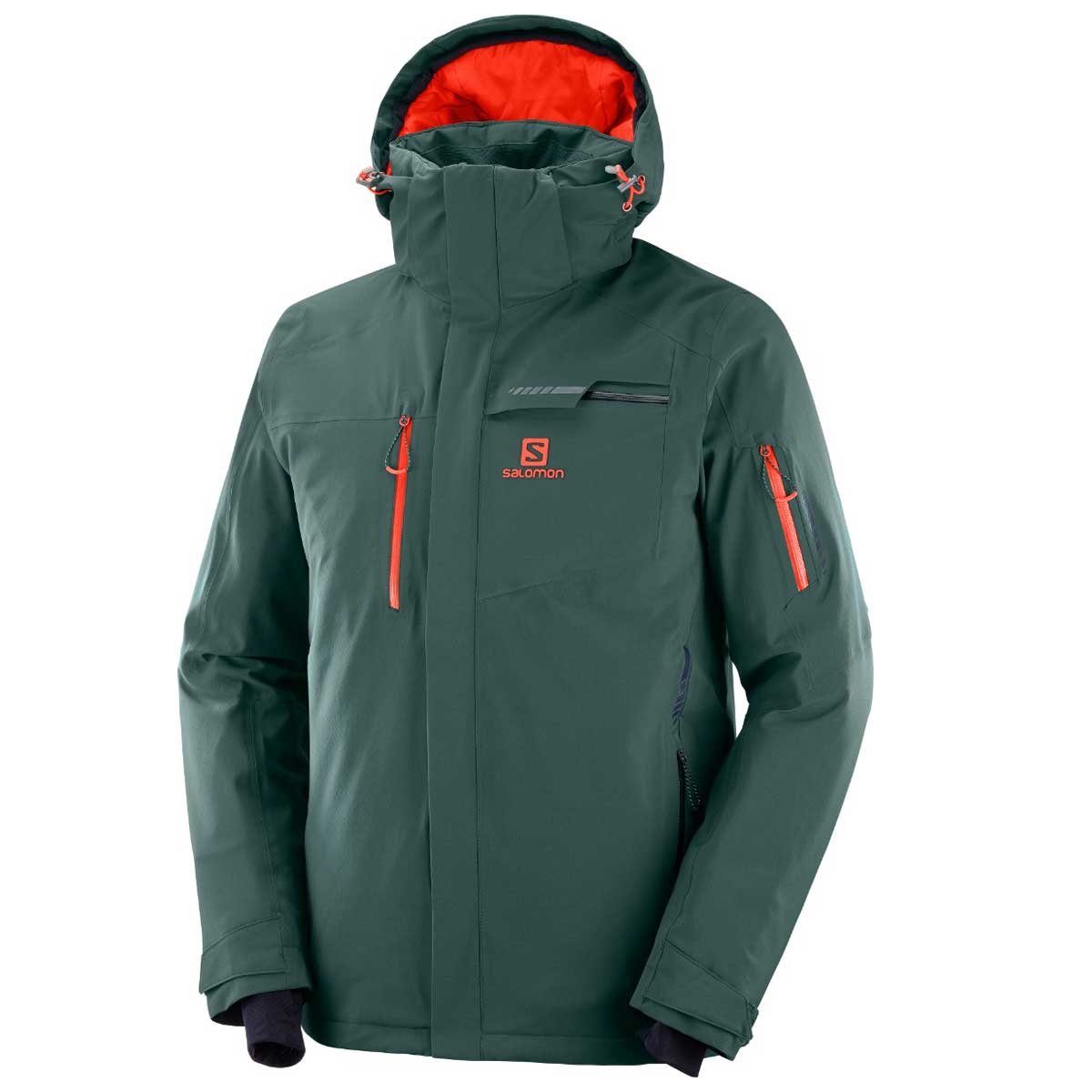 Salomon Men's Brilliant Jacket in Green Gables