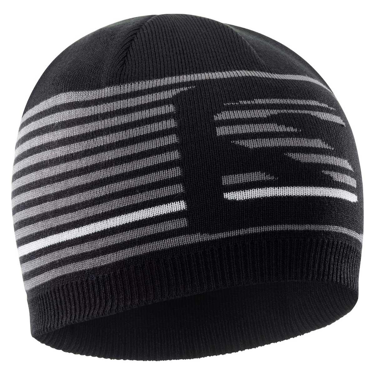 Salomon Flatspin Short Beanie in Black and Quiet Shade