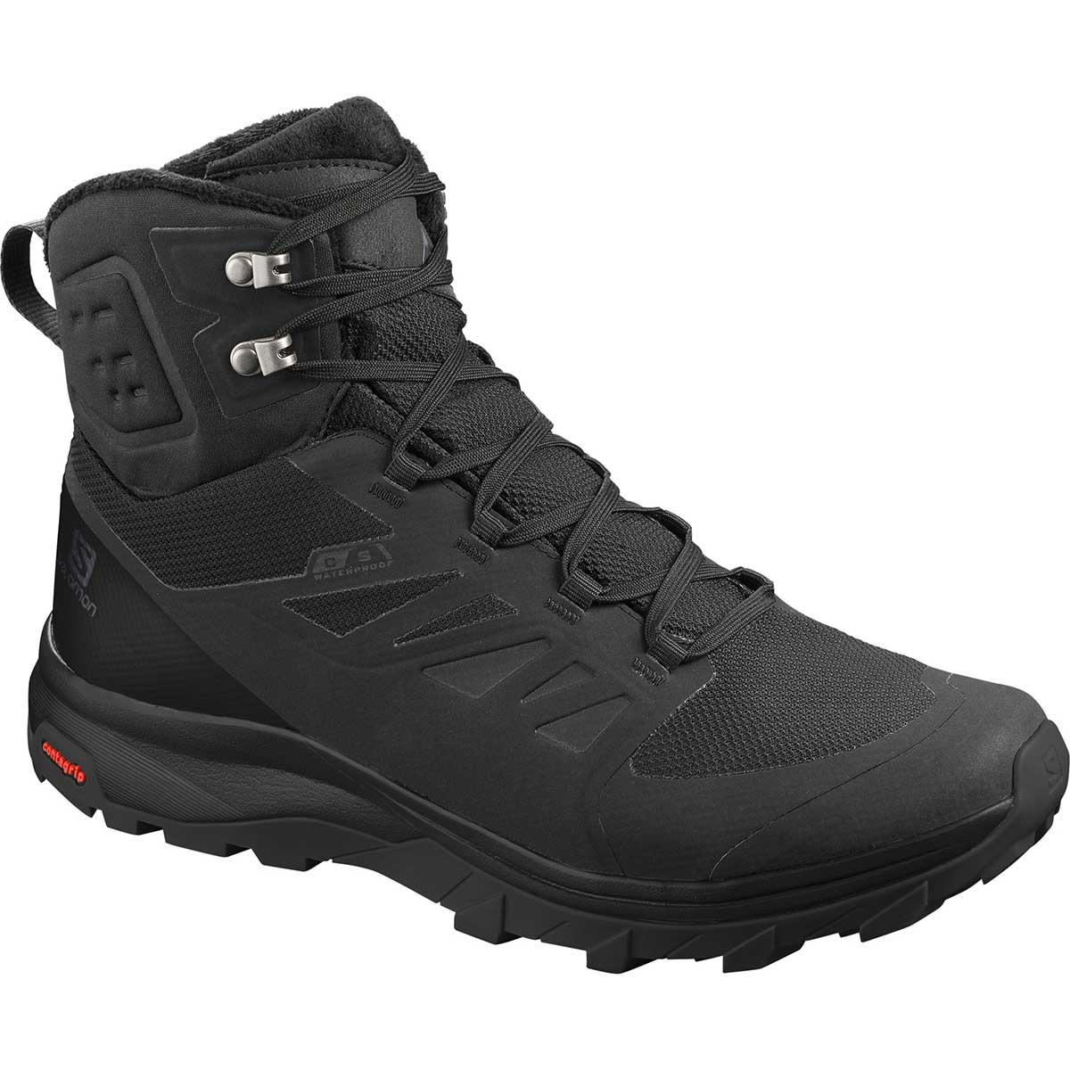 Salomon Outblast TS CS WP in Black and Black
