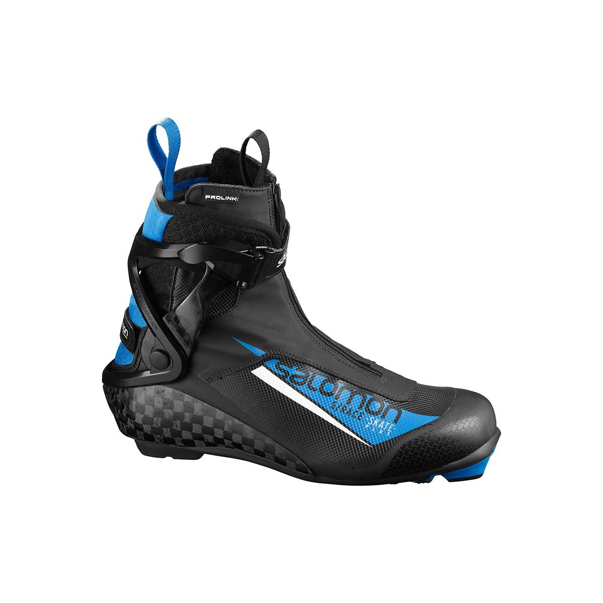 Salomon S Race Skate Plus Prolink Shoes in Black