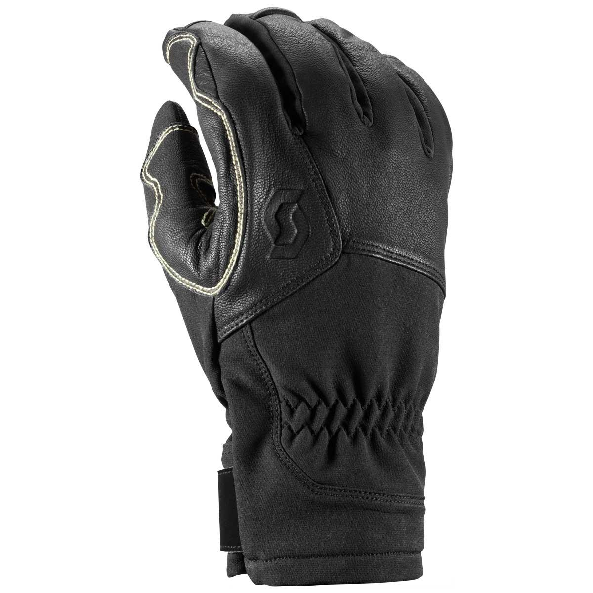 scott explorair tech glove in black
