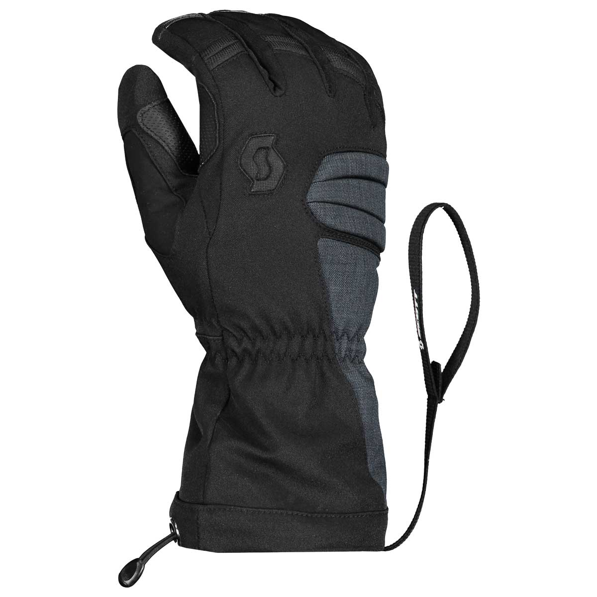 scott women's ultimate premium gtx glove in black