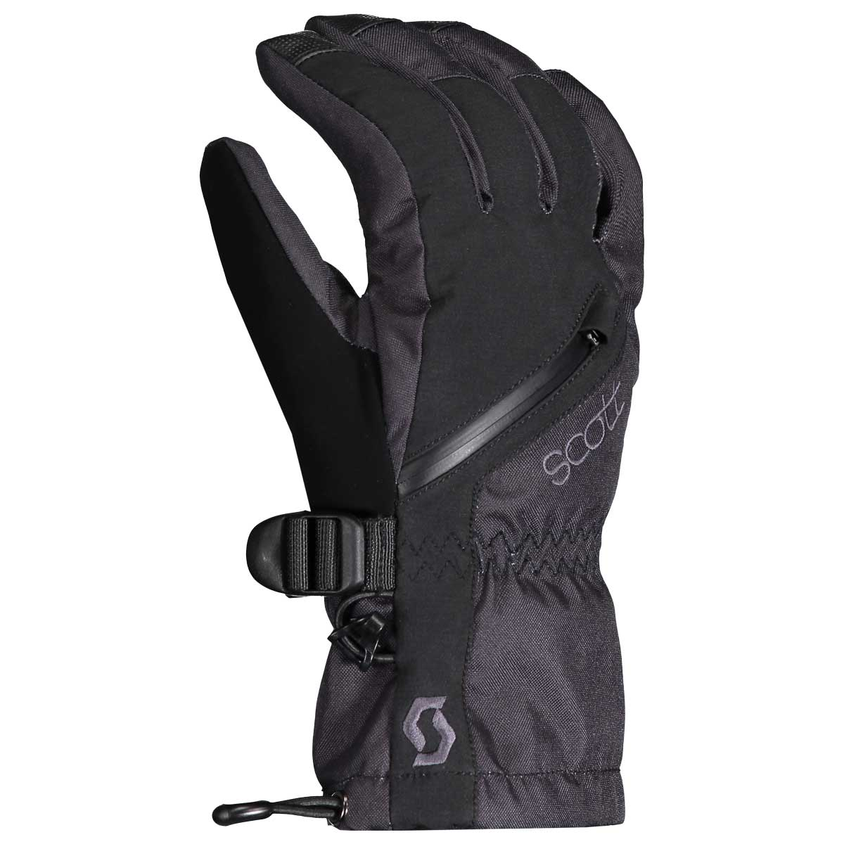 scott women's ultimate pro gloves in black