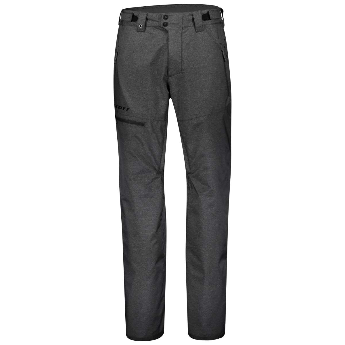Scott men's ultimate dryo 10 pant in dark grey melange