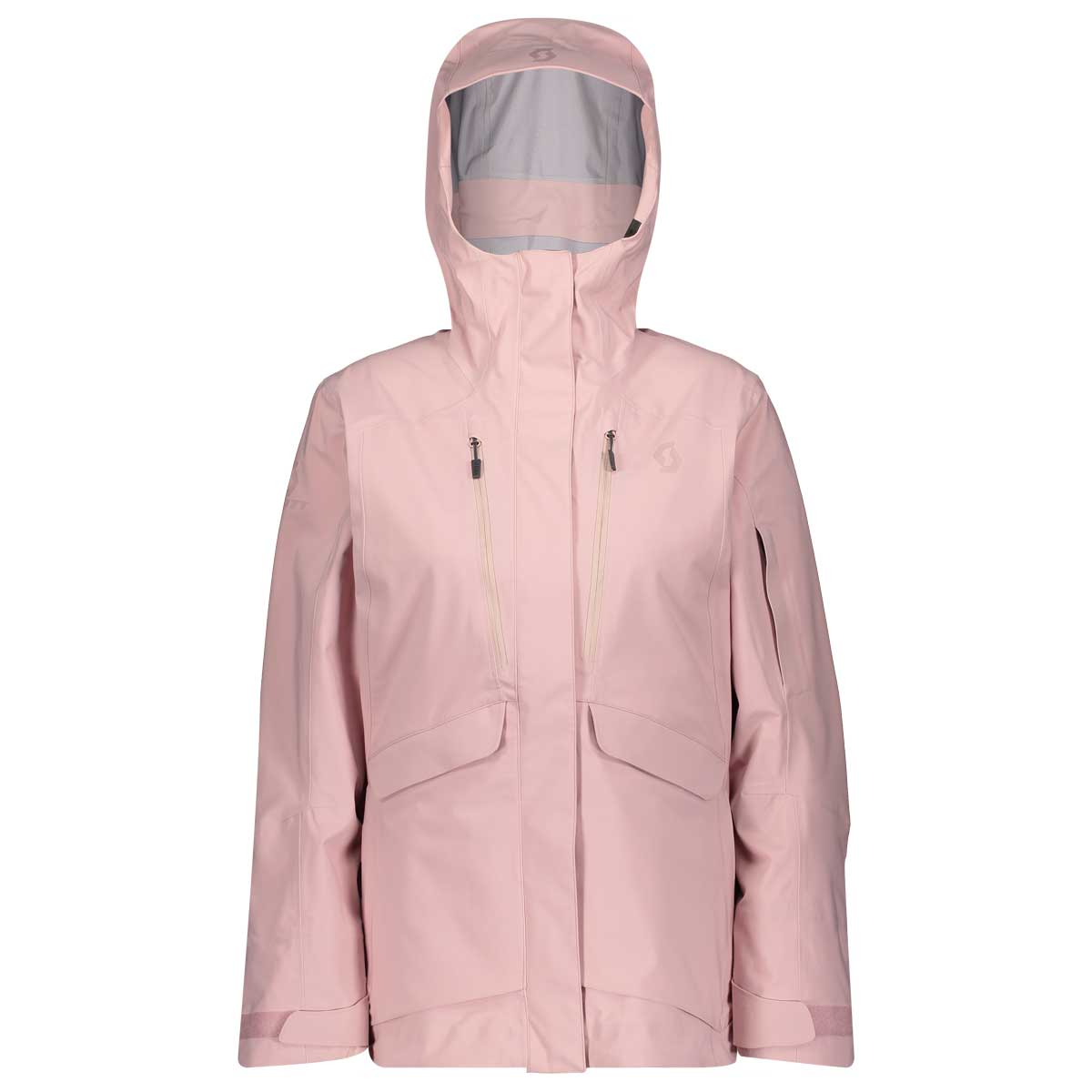 Scott women's vertic drx 3 layer jacket in pale purple